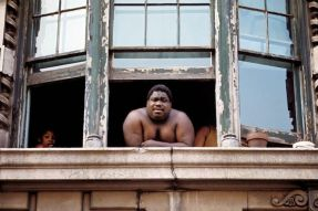 Harlem, NYC, nel 1970. Fotografia di Jack Garofalo