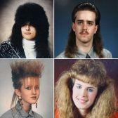 Il meglio dei tagli di capelli degli anni '80