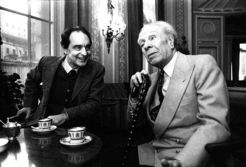 Italo Calvino e Jorge Luis Borges