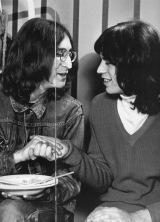 John Lennon e Mick Jagger