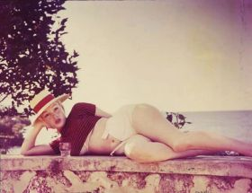 Marilyn Monroe fotografata da Sam Shaw, 1957