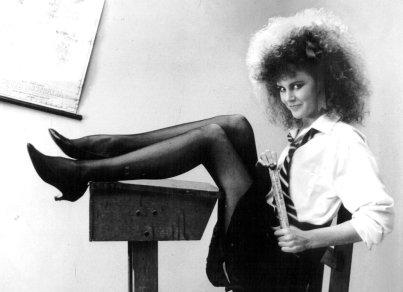 Nicole Kidman nei primi anni '80