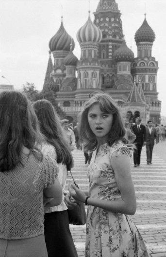 Olimpiadi di Mosca. Fotografia di Raymond Depardon, Mosca 1980