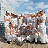 Pearl Harbor nel 1940. Fotografia di Carl Mydans