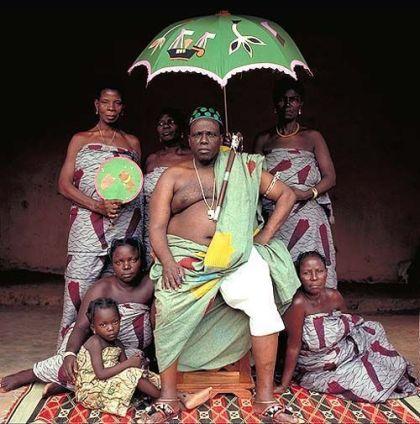 Re africano. Fotografia di Daniel Laine