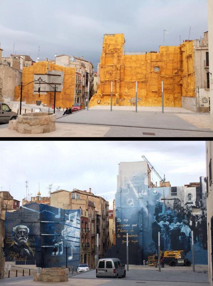 Roc Blackblock @Tortosa, Catalonia