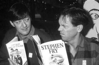 Stephen Fry e Hugh Laurie