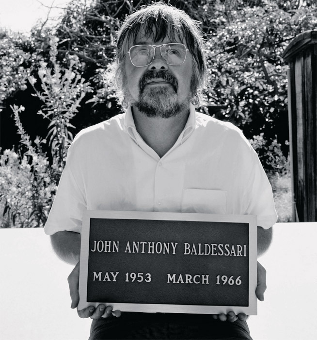 The Cremation Project by John Baldessari