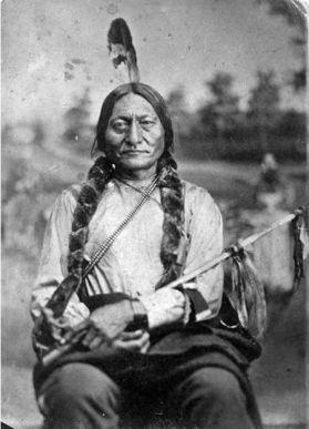 Toro Seduto, uomo sacro dei Sioux