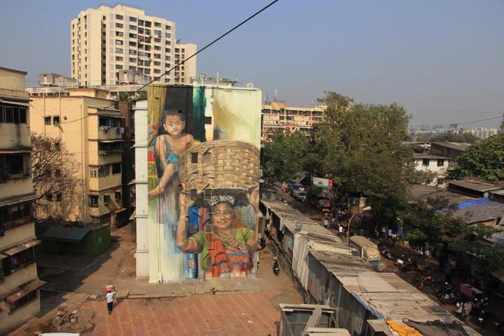 Wasp Elder & Helen Bur @Dharavi, India