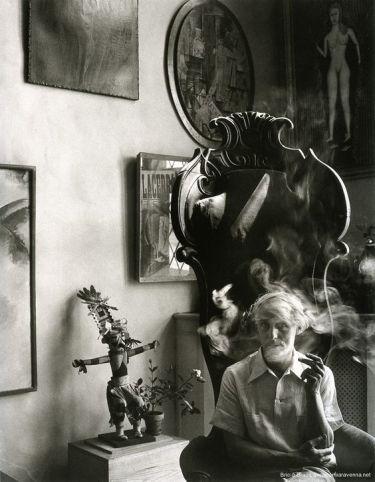 1942   Arnold Newman, Ritratto di Max Ernst