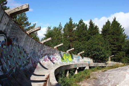 1984 Giochi olimpici invernali pista di bob Sarajevo