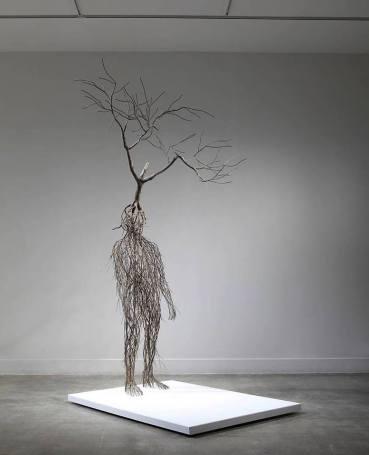A Forgotten Memory by Sun Hyuk-Kim. Stainless steel, 2017