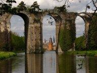 Acquedotto di Maintenon, Eure-et-Loir, Francia