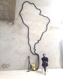 """""""Cartografía animal"""" by Alberto Borea at Revolver Galeria"""