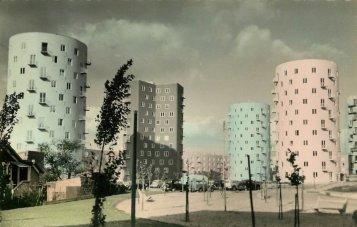 Appartamenti a Bobigny, Parigi, anni '50