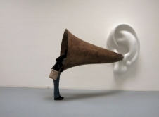 Beethoven's Trumpet (with Ear) Opus by John Baldessari