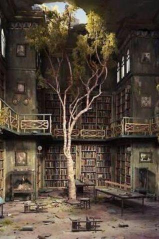 Biblioteca abbandonata