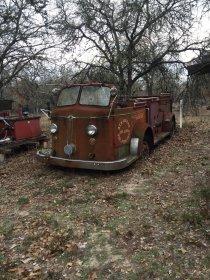 Camion dei pompieri in Texas