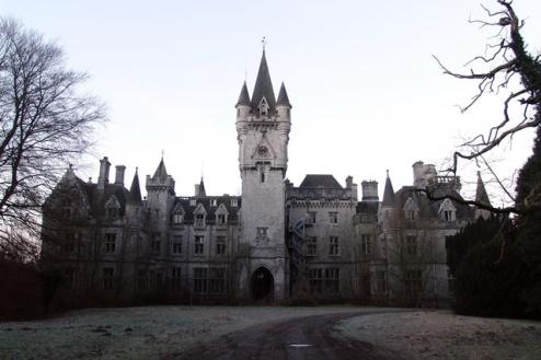 Château Miranda In Celles, Belgio