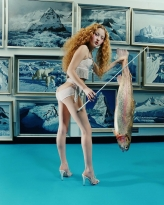 """Devon Aoki: Fish Stick"" (1998) by David La Chapelle"