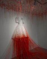 Dialogue with Absence by Chiharu Shiota