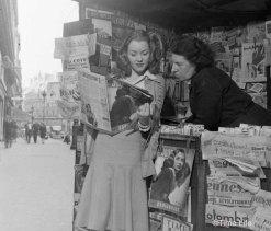 Donne parigine nel 1946