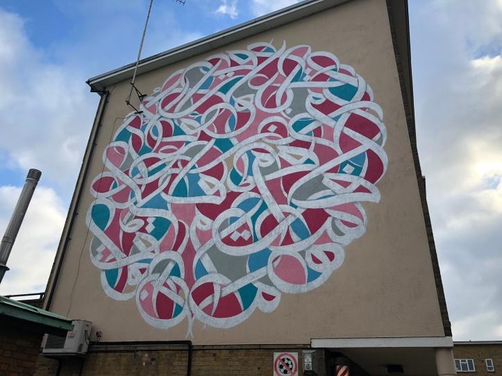 eL Seed @Cambridge, UK