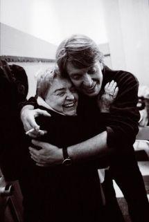 Fernanda Pivano con Fabrizio de André