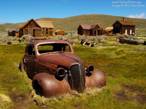 Ghost Town – Bodie, California
