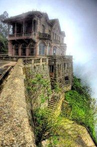 Hotel Del Salto alle cascate di Tequendama, Bogota, Colombia