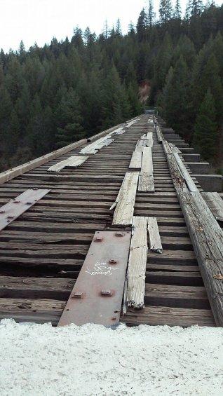 """Il ponte del film """"Stand By Me"""""""