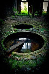 Impianto chimico abbandonato. Fotografia di Marco-art