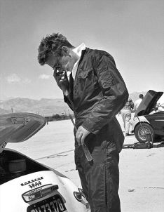 James Dean e la sua Porsche