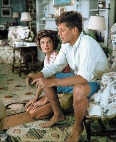 John F. Kennedy & Jacqueline Bouvier (1953)