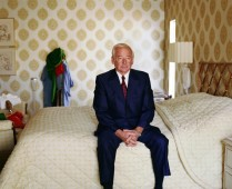 Larry Sultan - Pictures From Home - Dad on Bed, 1984