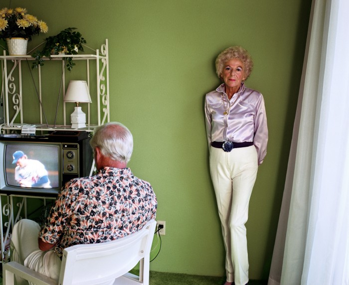Larry Sultan - Pictures From Home - My Mother Posing for Me, 1984