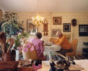 Larry Sultan - Pictures From Home - Reading kitchen table, 1988