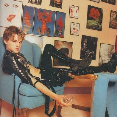 Leonardo DiCaprio fotografato da David LaChapelle, Hollywood 1996