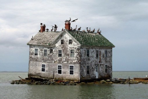 L'ultima casa a Holland Island, nel Maryland