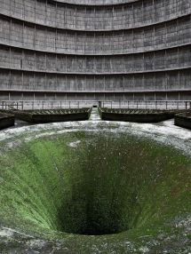 Torre di raffreddamento centrale elettrica a Charleroi