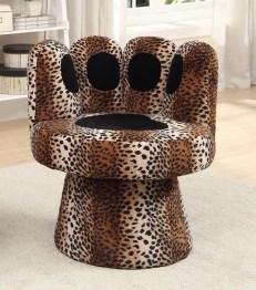 Mano leopardata poltrona