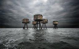 Maunsell Sea Forts, per proteggere Londra dai raid aerei della seconda guerra mondiale