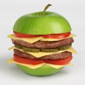 Mela hamburger