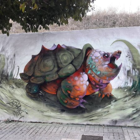 Mr Chapu @Alcoi, Alicante, Spain