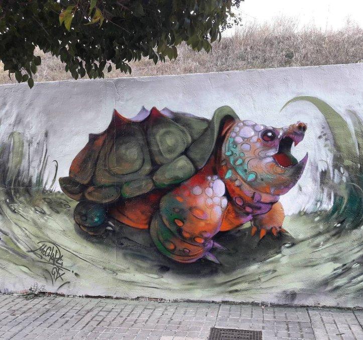 Mr Chapu @Alcoi, Alicante, Spain