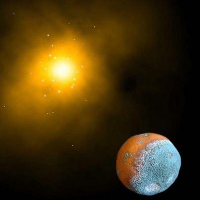 New Planet. By Julián Alonso