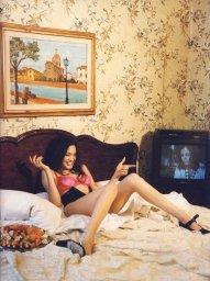 Angelina Jolie by Bettina Rheims, 1994