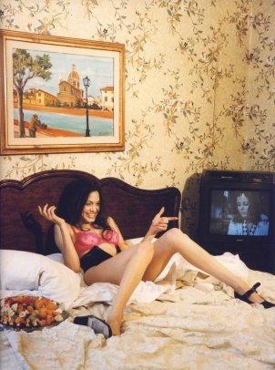 Angelina Jolie by Bettina Rheims, 1994
