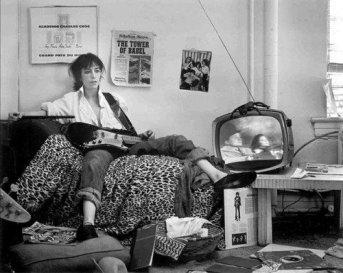 Patti Smith a New York, 1976. Foto di Frank Stefanko
